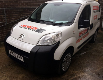 mobile tyre fitting in swindon